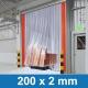 PVC Industrie Vorhang