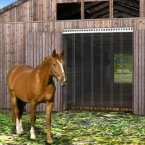Pferdestall PVC Streifenvorhang