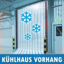 PVC Kühlhaus Kühlzelle Kühlraum Streifen