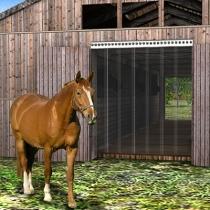 Pferde Stallvorhang