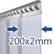 200x2mm Stallvorhang