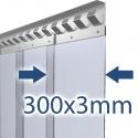 300x3mm Stallvorhang