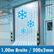 PVC Kühlhaus 200x2mm