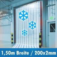 Kühlraum Vorhang Industrie Kühlzelle