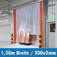 PVC Streifen 200x2mm 1,50m Breite