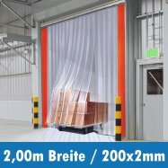 PVC Streifen 200x2mm 2,00m Breite