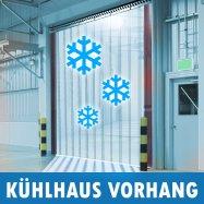 PVC Kühlhaus Streifen Kühlraum Kühlzelle