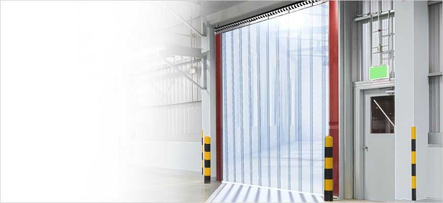 Lamellenvorhang für Industrie, Handwerk, Logistik, Pferdestall oder Gewerbe!